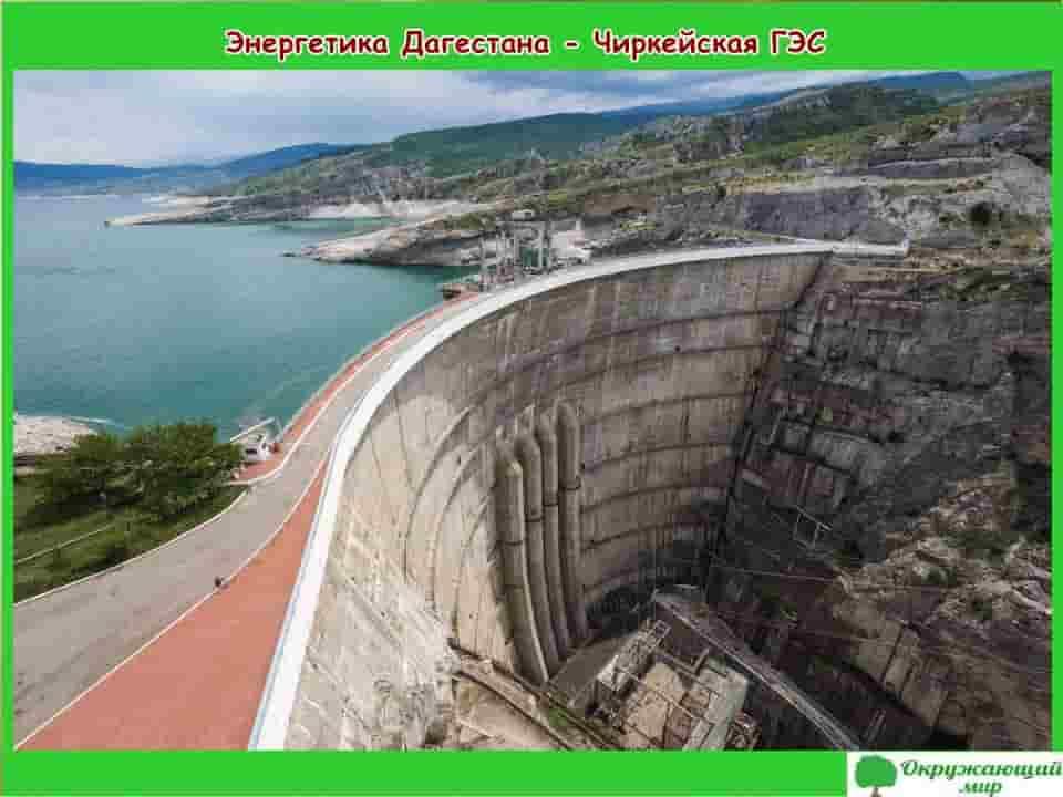 Энергетика Дагестана Чиркейская ГЭС