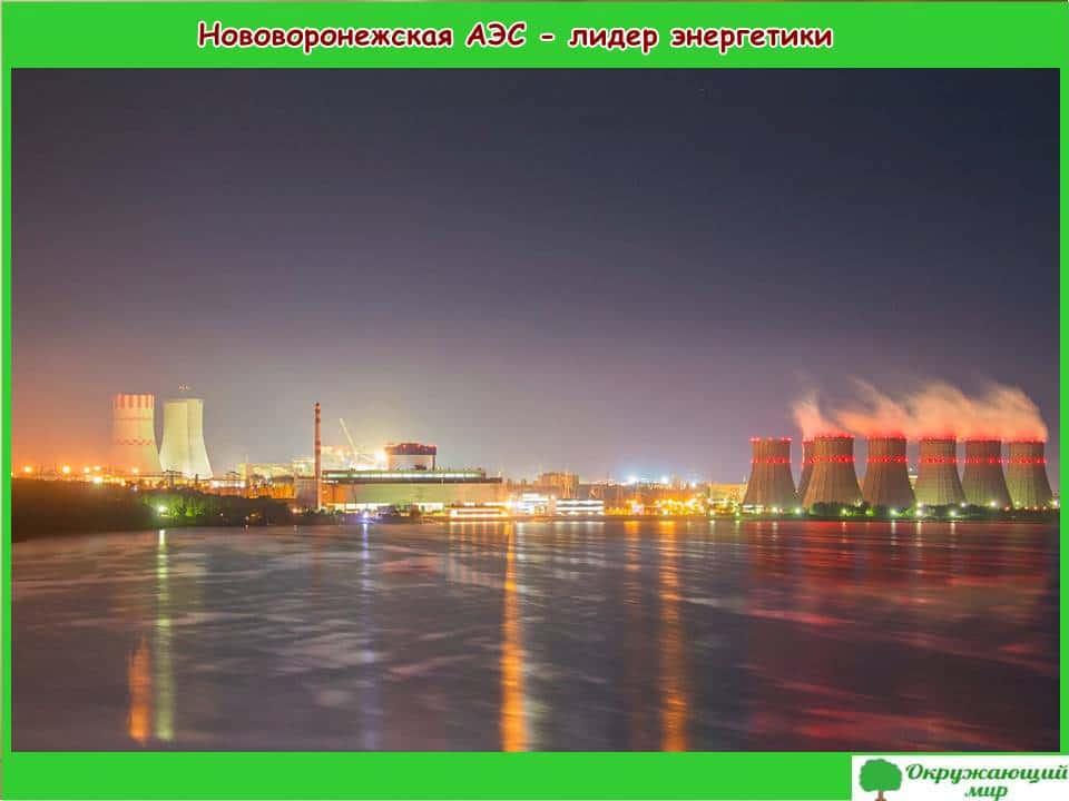 Нововоронежская АЭС - лидер энергетики