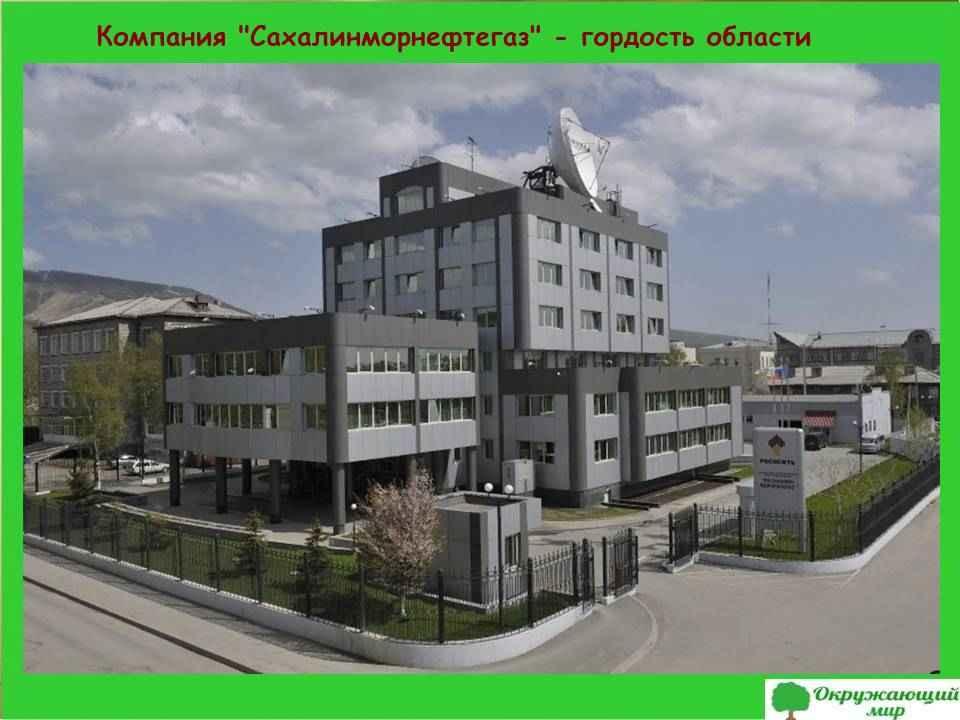 """10. Компания """"Сахалинморнефтегаз"""""""
