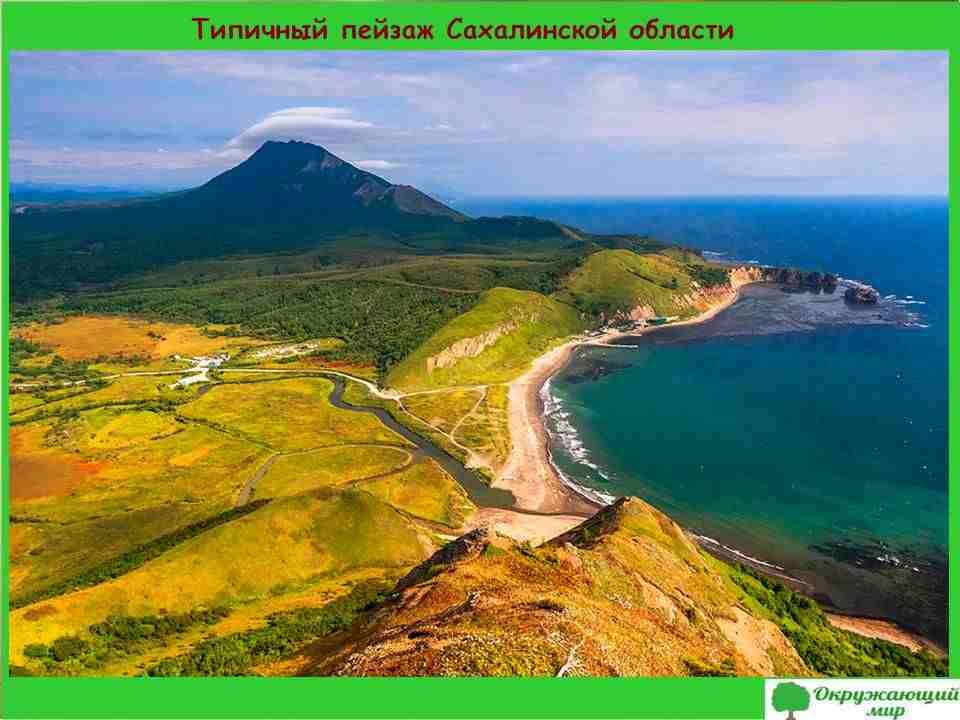 3. Типичный пейзаж Сахалинской области
