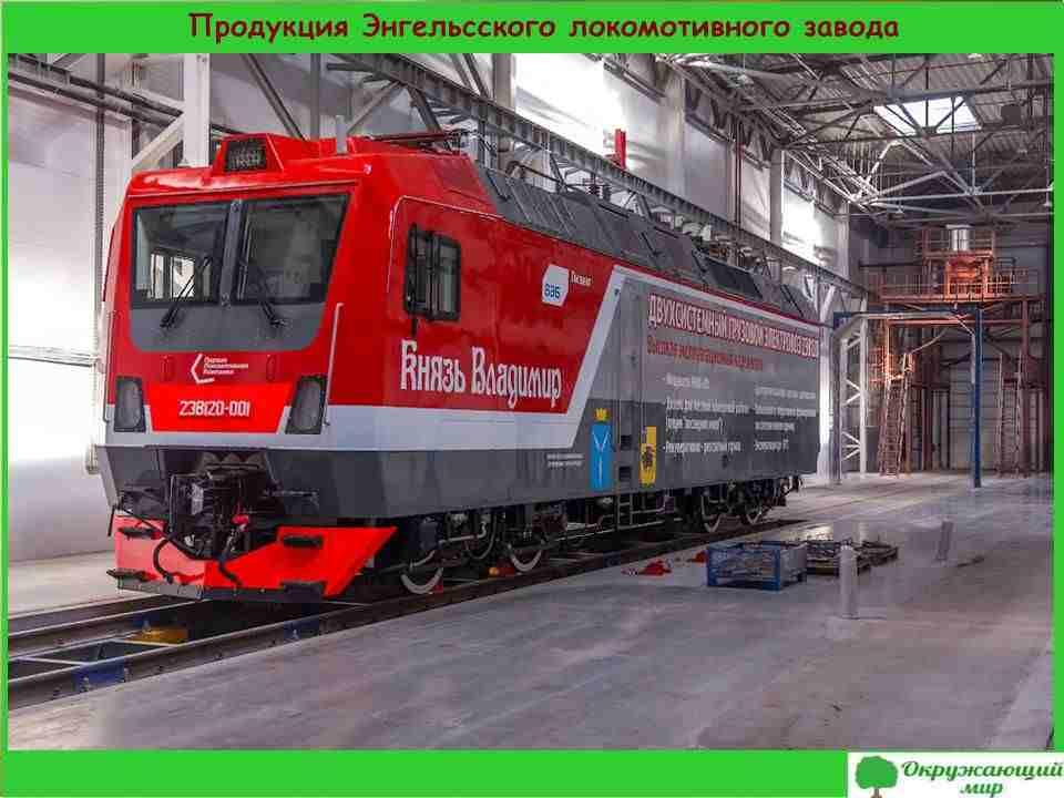 8. Продукция Энгельского локомотивного завода
