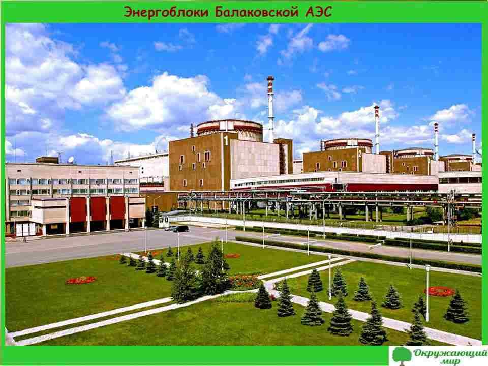 9. Энергоблоки Балаковской АЭС