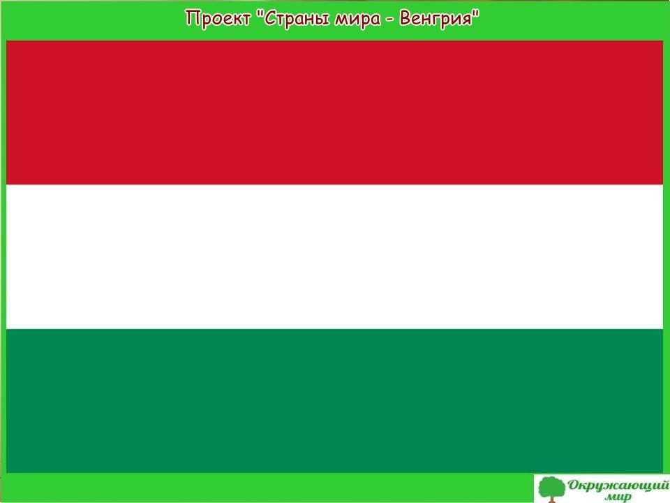 """Проект """"Страны мира - Венгрия"""""""