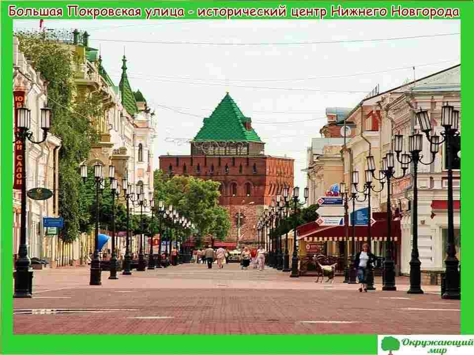 """Проект """"Города России - Нижний Новгород"""""""