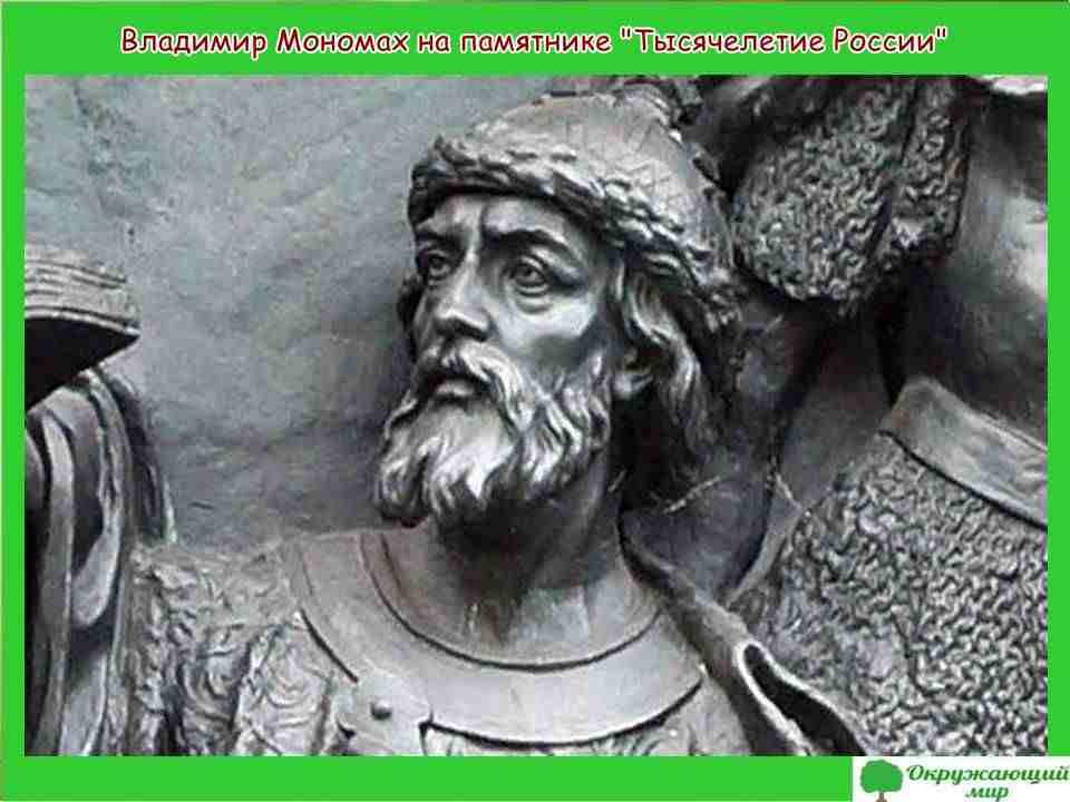 """Проект"""" Правители древней Руси - Владимир Мономах"""""""