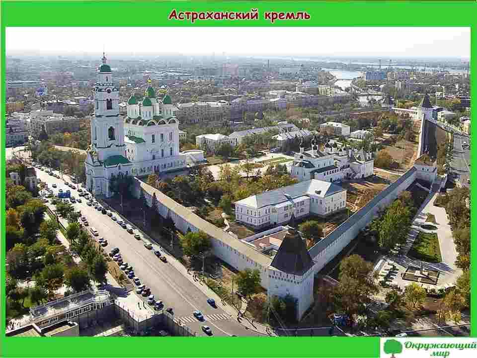 """Проект """"Мой родной город Астрахань"""" 2 класс"""