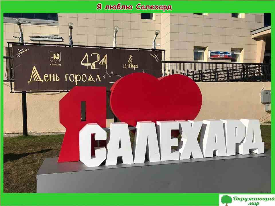 "Проект ""Мой родной город Салехард"""" 2 класс"