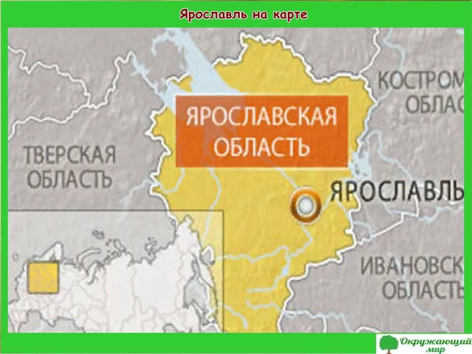 """Проект """"Мой родной город Ярославль"""" 2 класс"""
