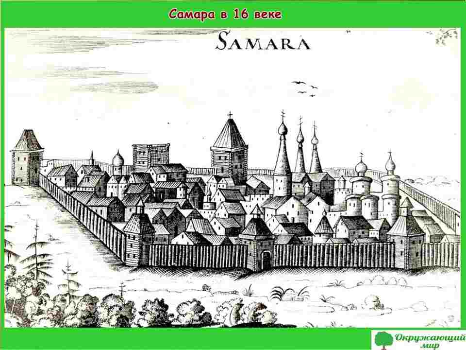 "Проект ""Мой родной город Самара"" 2 класс"