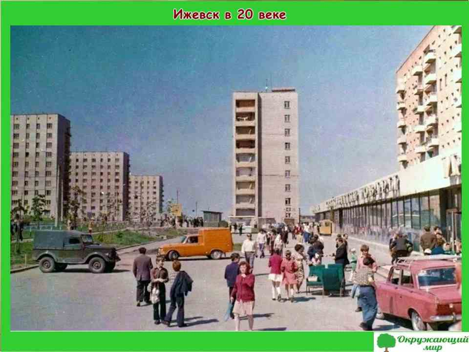 """Проект """"Мой родной город Ижевск"""" 2 класс"""
